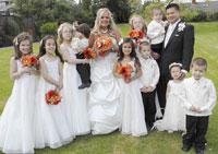 Из-за беременности невесты свадьбу откладывали... 9 раз