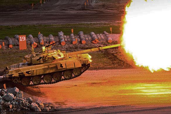 """За российским танком Т-90 и защитницей бронетехники """"Ареной"""" охотились американцы. 377106.jpeg"""