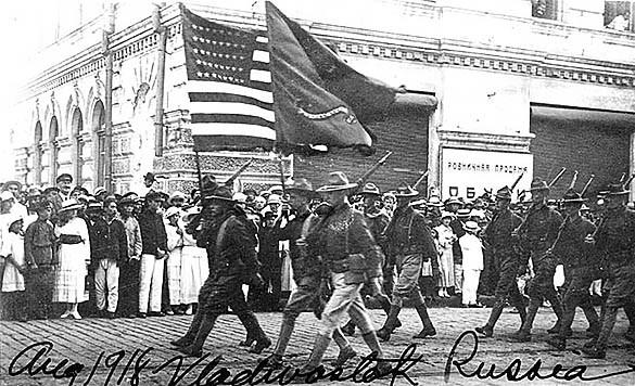 """Факты истории: Америка """"вторгалась"""" в Россию во время Гражданской войны. 379106.jpeg"""