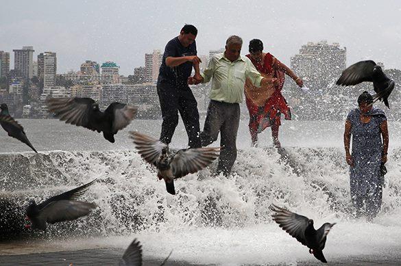 Катастрофа в Мумбаи: аномальные дожди практически парализовали функционирование огромного города. Мумбаи, наводнение