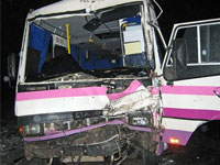 В крупном ДТП в Армении пострадали более 10 человек