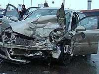 На юге столицы столкнулись шесть автомобилей