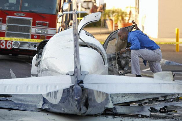 В Уругвае разбился легкомоторный самолет. В Уругвае при крушении самолета погибли 10 человек