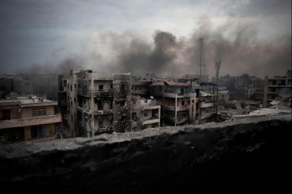 МИД России: в Гуте найдены хлор и дымовые шашки из ЕС. 386110.jpeg