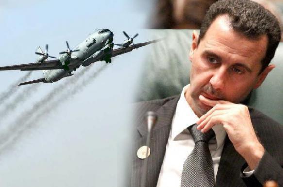 Асад в осадке: лидер Сирии юлит перед Путиным за сбитый Ил-20. 392110.jpeg