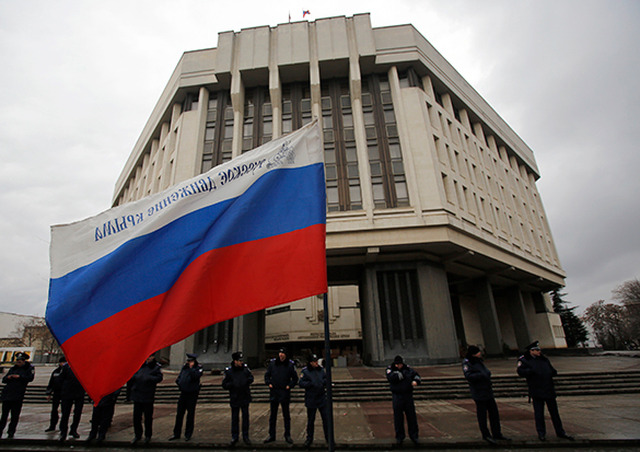 Госдума планирует утвердить договор о присоединении Крыма уже в пятницу. 290111.jpeg