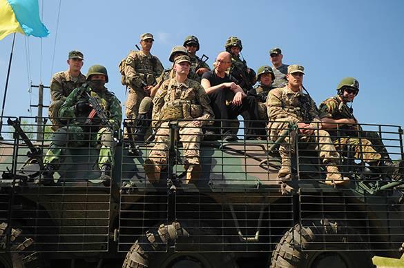 Размещение ядерного оружия на Украине - вопрос ближайшего времени - военный эксперт. Украинские военные