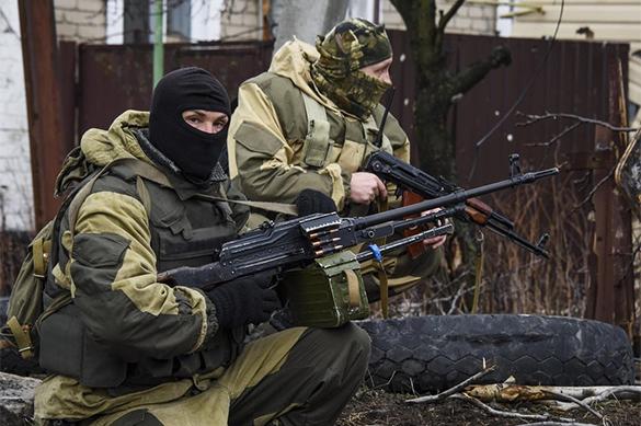 Вооружённые силы ЛНР без цельного  выстрела заняли позиции ВСУ