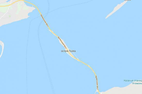 Google полностью отдал Крымский мост Украине. 389111.jpeg