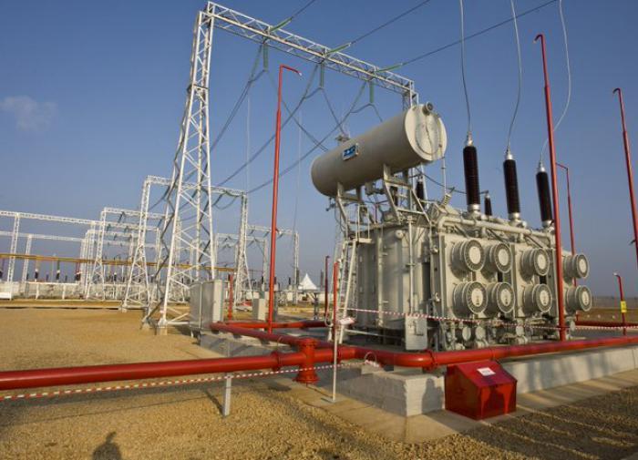 Подстанция связи энергетики