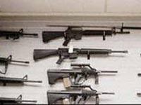 В проблемном украинском банке найден арсенал оружия