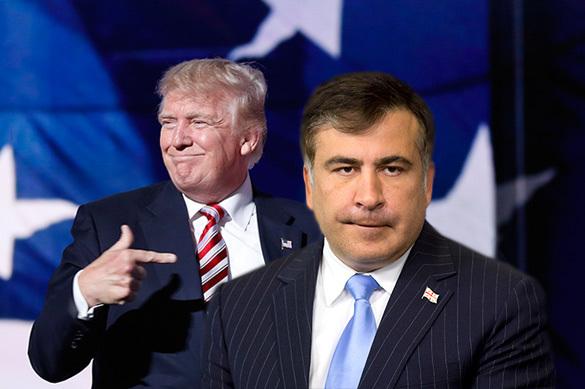 Саакашвили рассказал о многолетней дружбе с Трампом
