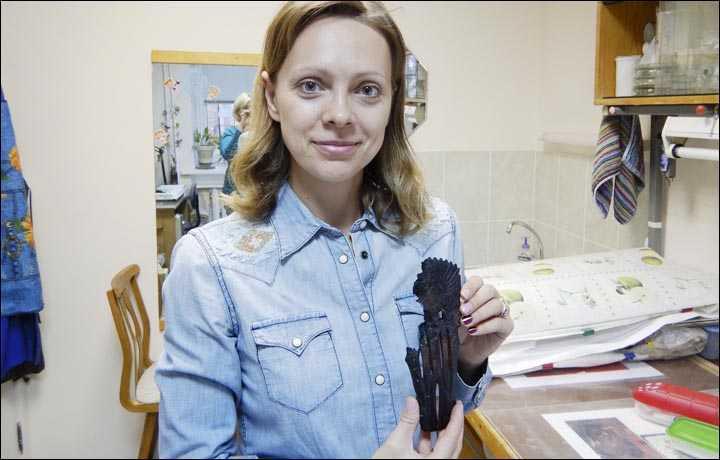 В Сибири найдена фигурка неизвестной культуры возрастом пять тысяч лет. В Сибири найдена фигурка неизвестной культуры возрастом пять тыс