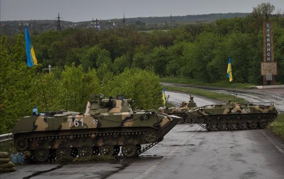 Украинские силовики поиграли в