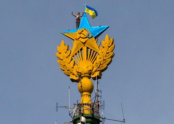 Руфер, раскрасивший звезду в Москве, объявлен в международный розыск. Павел Ушевец объявлен в международный розыск