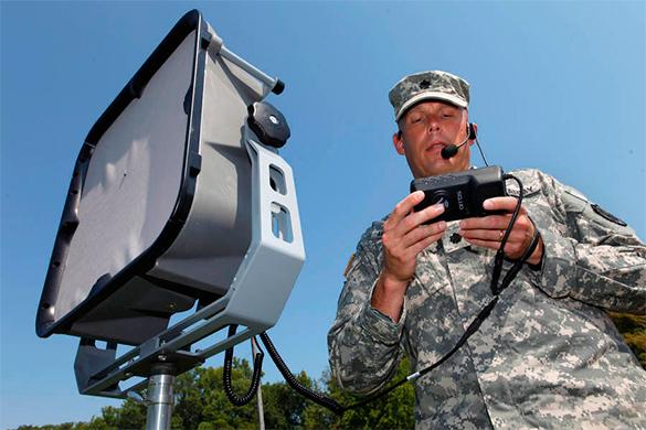 Армия США начала тестировать оружие, подавляющее электронику врага. солдат, сша, оружие, тест