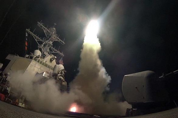 Трамп обратился к жителям Америки из-за ракетной атаки Сирии