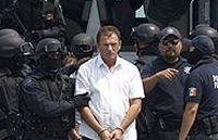 Мексиканская полиция арестовала членов наркокартеля во время