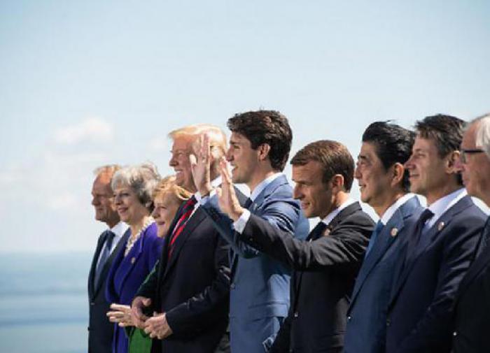 Большая семерка G7 в Канаде