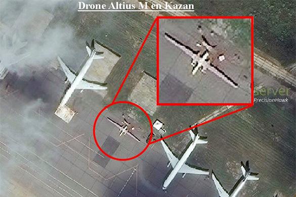 В сети появились снимки загадочного беспилотника РФ