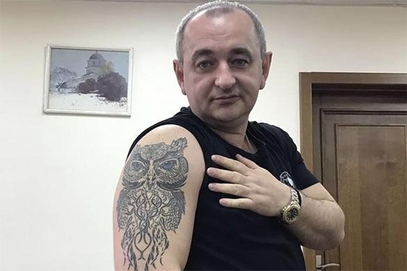 Военный прокурор Украины набил тату в виде огромной совы на руке