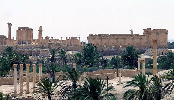 Жители Пальмиры эвакуированы войсками Сирии. Пальмира, Сирия