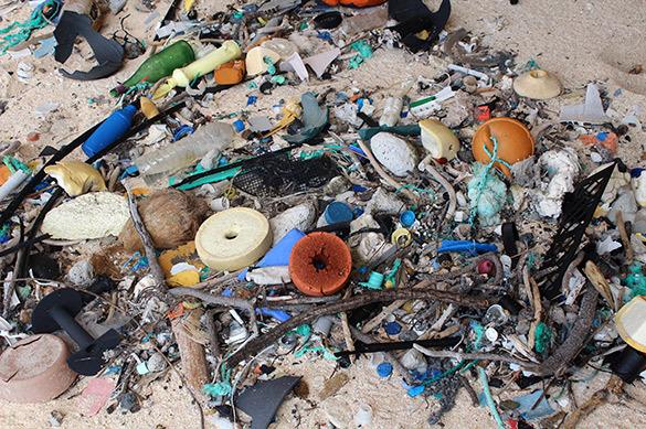 В океане нашли самый грязный остров