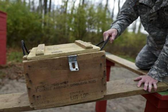 На побережье у Геленджика нашли ящик со снарядами НАТО. На побережье у Геленджика нашли ящик со снарядами НАТО