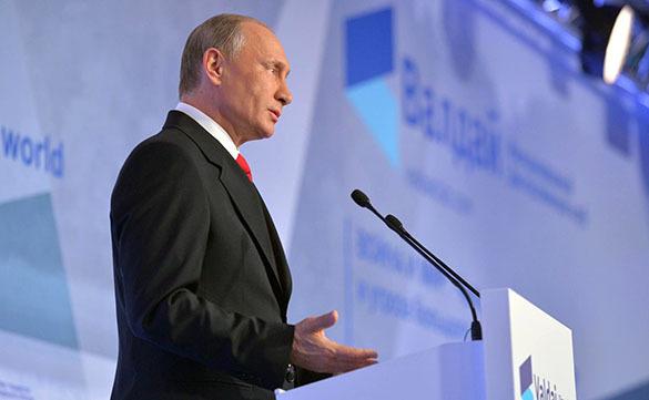 Путин, Валдай