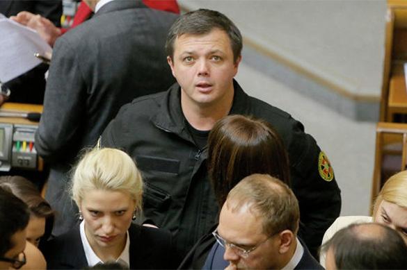 Украинский боевик Семенченко объявил оготовящемся захвате учреждений Ахметова