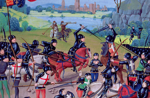 Битва при Кресси - как французы проиграли из-за глупости командира. 403126.jpeg