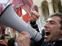 Грузинская оппозиция призывает ЕС в парламентеры