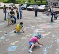 Детское лето в пыльном городе