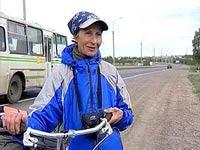 68-летняя велосипедистка проехала всю Россию за 90 дней