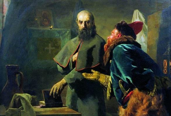 Митрополит Филипп и Малюта Скуратов»