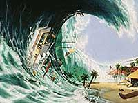 На юге Тихого океана может зародиться цунами