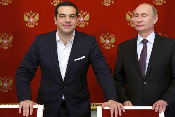 Independent: Обращение Греции к России стало кошмаром ЕС и пощечиной Западу. Ципрас и Путин