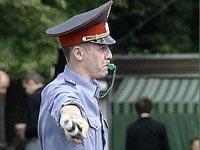 Московская милиция задержала около 100 футбольных фанатов