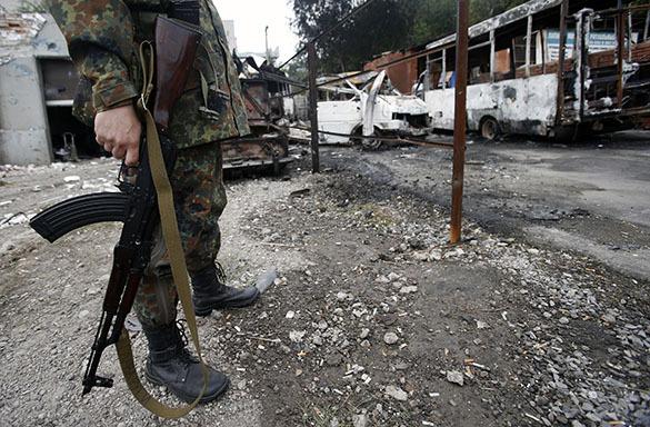 Ополченцы Донбасса заявляют об обнаружении лагеря пыток украинских военных. 299131.jpeg