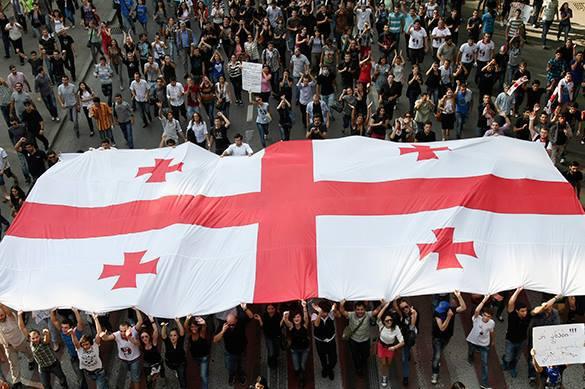 В Тбилиси объявили голодовку из-за России. 376131.jpeg
