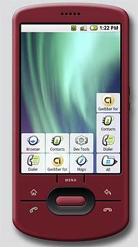 Мобильный телефон на платформе Android