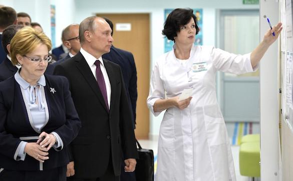 Президент России в кировской