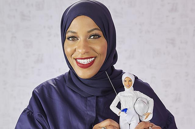 В США появилась новая Барби — в хиджабе и с саблей. Видео. В США появилась новая Барби — в хиджабе и с саблей. Видео