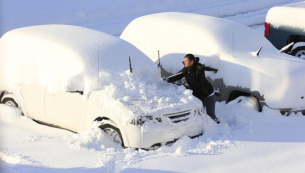 Жертвами нью-йоркского снегопада уже стали пять человек. 304135.jpeg