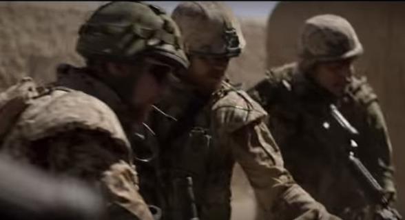 кадр из фильма фильм Тобиаса Линдхольма Война