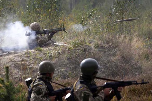 Украинские силовики 50 раз нарушили режим прекращения огня в Дон