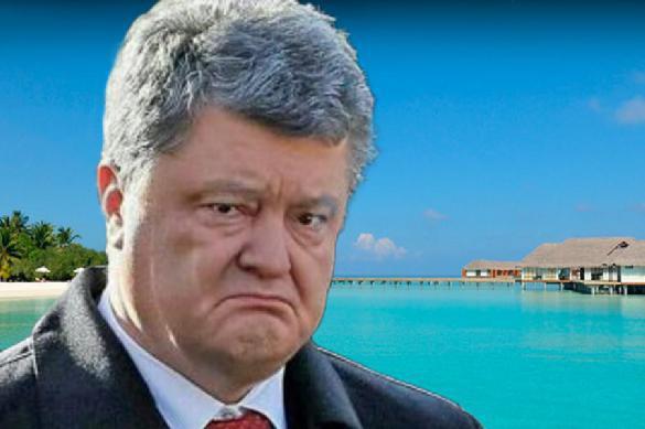 Порошенко ищет место отдыха вгосударстве Украина после скандала споездкой наМальдивы
