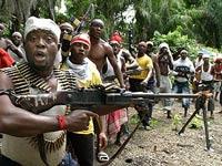 Нигерийские террористы взяли в плен судно с иностранцами