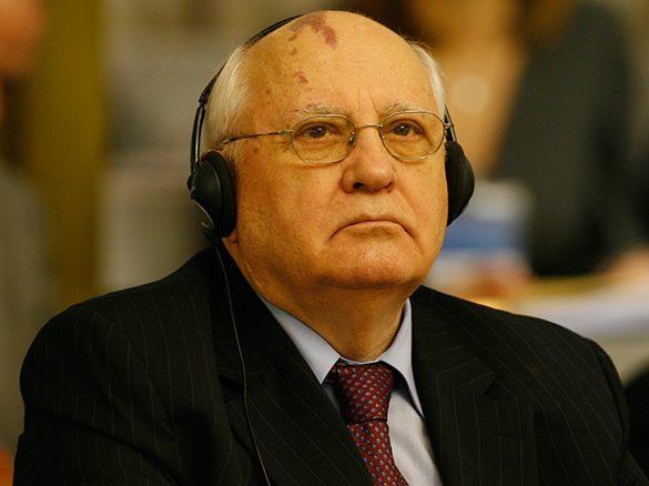 Любимец Запада Горбачев обвинил мировых лидеров в неуважении победителей фашизма. Горбачев овинил Запад в неуважении