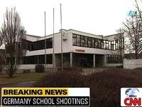 В немецкой школе, где были расстреляны учащиеся, возобновлены
